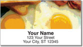 Country Breakfast Address Labels