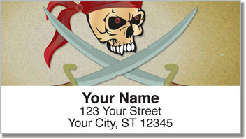 Pirate Address Labels
