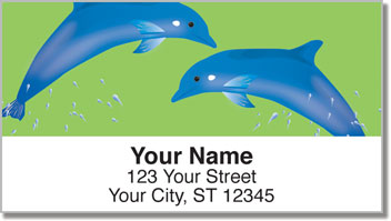 Dolphin Friends Address Labels