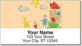 Mini Masterpiece Address Labels