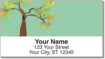 Honey Tree Address Labels