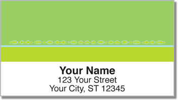 Tiny Bubbles Address Labels