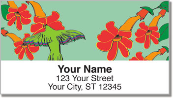 Flying Jewel Address Labels