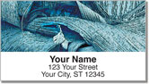 Palm Leaves Address Labels