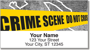 Crime Scene Address Labels