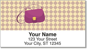 Purse Lover Address Labels