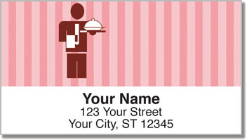 Restaurant Address Labels