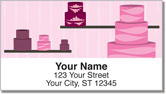 Piece of Cake Address Labels