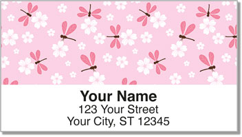 Daring Dragonfly Address Labels