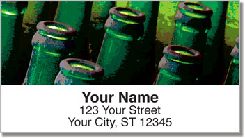 Soda Bottle Address Labels