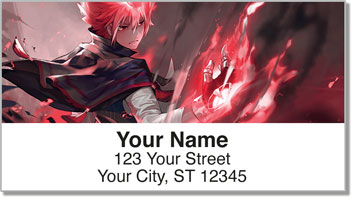 Anime Address Labels