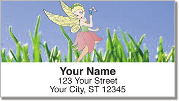 Pretty Pixie Address Labels