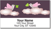 Messenger Bird Address Labels