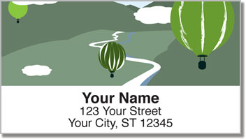 Balloon Race Address Labels