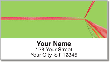 Retro Ray Address Labels
