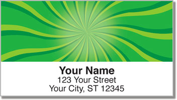 Retro Twist Address Labels