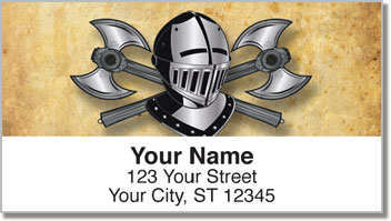 Medieval Address Labels