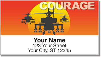 Army Address Labels