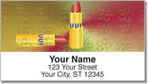 Lipstick Address Labels