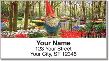 Gnomes in Nature Address Labels