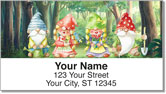 Garden Gnome Address Labels