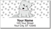 Cute Cat & Dog Address Labels