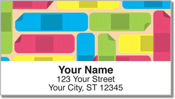 Band Aid Address Labels
