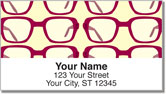 Eyeglass Address Labels