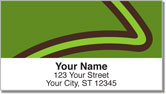 Curved Line Address Labels