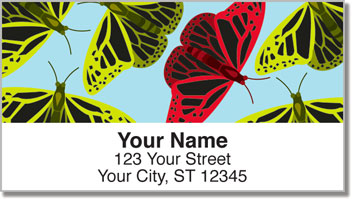 Insect Illustration Address Labels