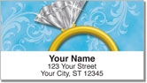 Ring Bling Address Labels