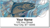 Trout & Salmon Address Labels