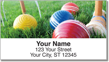 Lawn Game Address Labels