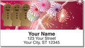 Holiday Treat Address Labels