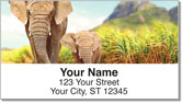 Elephant Address Labels