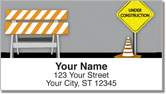 Road Construction Address Labels