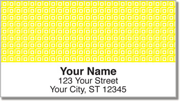 Simple Square Address Labels