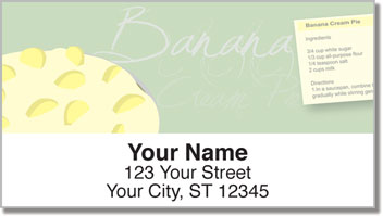 Pie Recipe Address Labels