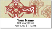 Celtic Cross Address Labels
