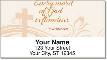 Bible Verse Address Labels