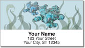 Whale & Turtle Address Labels