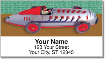 Wind Up Toy Address Labels