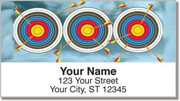 Archery Address Labels