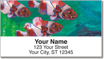 Painted Clown Fish Address Labels