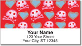 Cute Skull & Crossbones Address Labels
