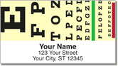 Optometry Address Labels