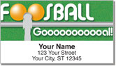 Foosball Address Labels