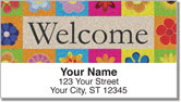 Welcome Mat Address Labels