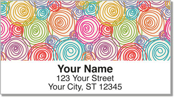 Spiral Address Labels