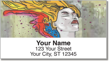 Graffiti Art Address Labels